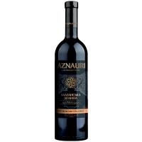 Вино Aznauri Алазанська долина червоне напівсолодке 0,75л