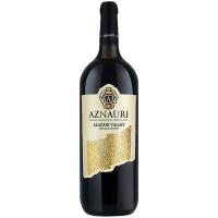 Вино Aznauri Алазанська долина напівсол. біле 1,5л