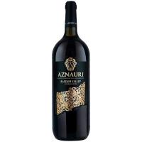 Вино Aznauri Алазанська долина напівсол. червоне 1,5л