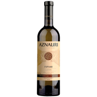 Вино Aznauri Gurami Гурамі біле напівсолодке 9-13% 0,75л