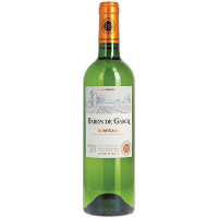 Вино Baron de Gasgo Bordeaux біле сухе 0,75л