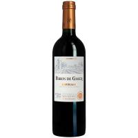 Вино Baron de Gasgo Bordeaux червоне сухе 0,75л