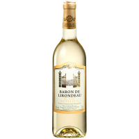 Вино Baron De Lirondeau Blanc medium sweet 0.75л
