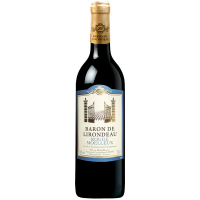 Вино Baron De Lirondeau Rouge medium sweet 0.75л