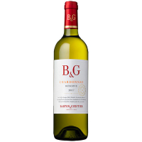 Вино B&G Chardonnay біле сухе 0.75л