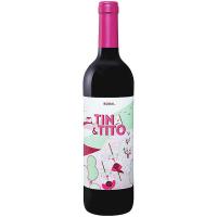 Вино Bobal Tina & Tito сухе червоне 0,75л