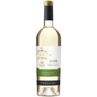 Вино Bostavan Dor Traminer Chardonnay біле сухе 0,75л