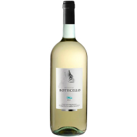 Винo Botticello White Dry 1.5л
