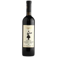 Вино Бугеулі Алазанська долина червоне напівсолодке 0,75л