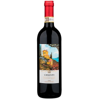 Вино Cala De Poeti Chianti червоне сухе 0,75л