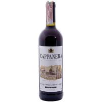 Винo Cappanera червоне напівсухе 0.75л