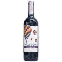 Вино Carmenere червоне сухе Latitude Чилі 0,75л