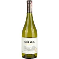 Вино Carta Vieja Chardonnay Clasico біле сухе 13% 0,75л