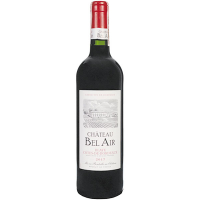 Вино Chateau Bel Air Bordeaux червоне сухе 0,75л