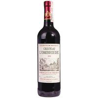 Вино червоне сухе Bordeaux Superieur CHATEAU L`OMBRIERE Франція 0,75л