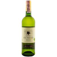 Вино Chevalier De Pierre Blanc Sec біле сухе 0,75л