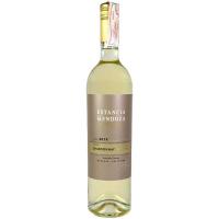 Вино Estancia Mendoza Chardonnay сухе біле 0,75л