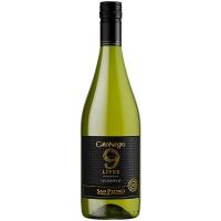 Винo Gato Negro 9 Lives Chardonnay 0,75л