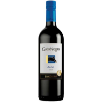 Вино Gato Negro Merlot 0.75л