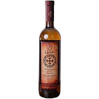 Вино Gelati Цинандалі біле сухе 0,75л