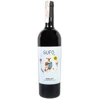 Вино Gufo Merlot сухе червоне 0,75л
