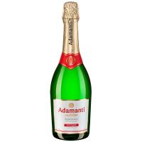 Вино ігристе Adamanti напівсолодке 0,75л