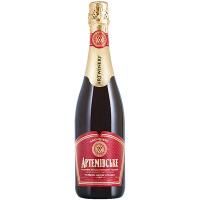 Вино ігристе Артемівське червоне витримане нап/сол.0,75л