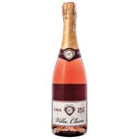 Вино ігристе Villa Clara Cava Brut Rose брют рожеве сухе 11,5% 0,75л