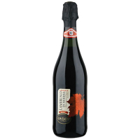Вино ігристе Civ&Civ Lambrusco чевроне напівсолодке 0,75л