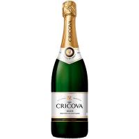 Вино ігристе Cricova біле напівсолодке 0.75л