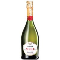 Вино ігристе Noble Kosher Semi-Sweet біле н/солодке 0,75л