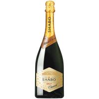 Вино ігристе Shabo Brut Шабо брют біле 10,5-13,5% 0.75л
