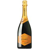Вино ігристе Shabo напівсолодке біле 0,75л