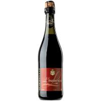 Вино ігристе Sorbello Lambrusco червоне н/солодке 0,75л