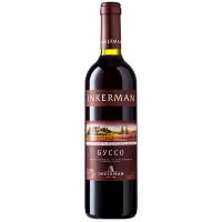 Вино Inkerman Буссо червоне н/солодке 0,7л