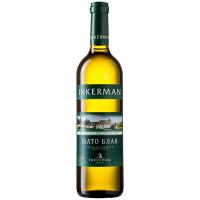Вино Inkerman Шато Блан біле напівсухе 9-12% 0,7л