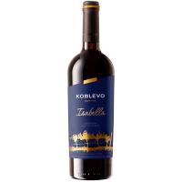 Вино Коблево Ізабелла червоне десертне 0,75л