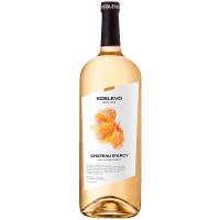 Вино Koblevo Chateau D`Arcy біле н/солодке 1,5л