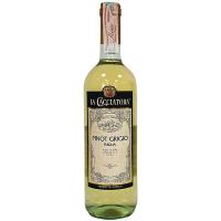 Вино La Cacciatora Pinot Grigio Puglia 0,75л