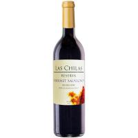 Вино Las Chilas Reserva Cabernet Sauvignon чер. сухе 0,75л