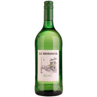 Вино Le Bonjour Blanc біле сухе 1л