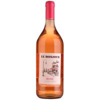Вино Le Bonjour Rose рожеве сухе 1л