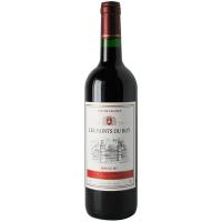 Вино Les Monts du Roy Rouge червоне сухе 0,75л