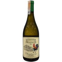 Вино Lumiere France Chardonnay біле сухе 0,75л