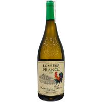 Вино Lumiere France Sauvignon Blanc біле сухе 0,75л