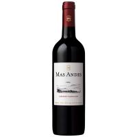 Винo Mas Andes Cabernet Sauvignon червоне сухе 0,75л