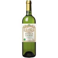 Вино Monsieur Lacroix Chardonnay біле сухе 0,75л