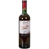 Вино Muscat рожеве напівсолодке 0,75