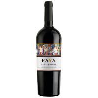 Вино Pava червоне напівсолодке 0,75л