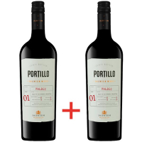 Винo Portillo Malbec сухе червоне 2*0.75л